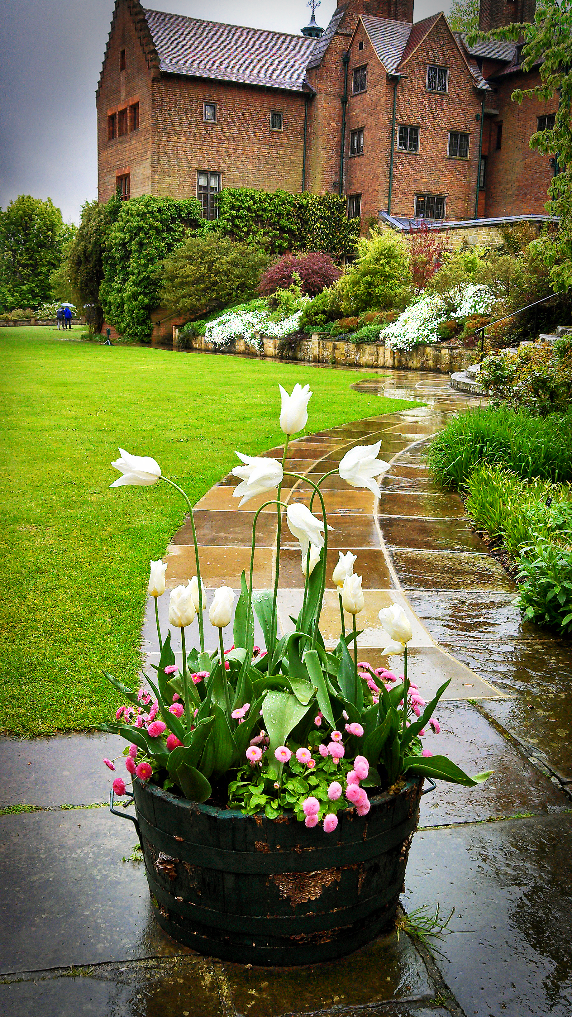 chartwell house tulip pot