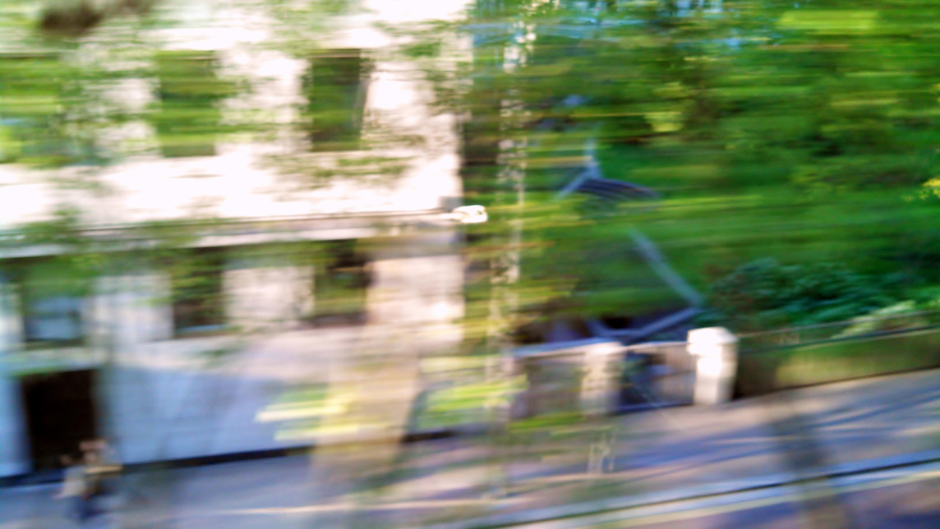 london street scenes train
