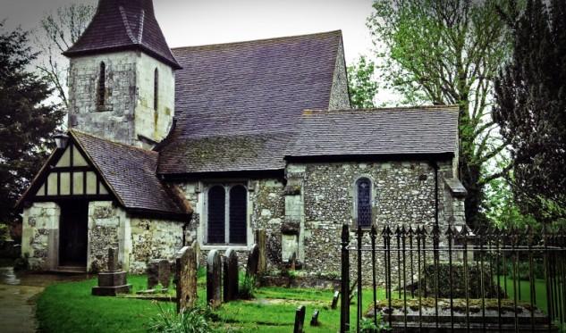 parish church of chaldon