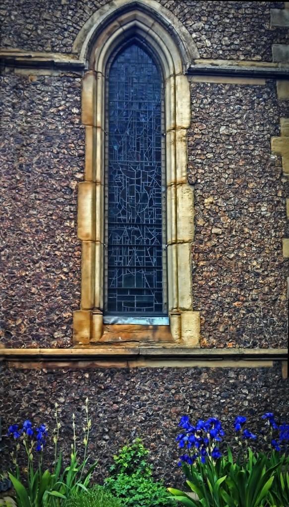 southwark cathedral window irises