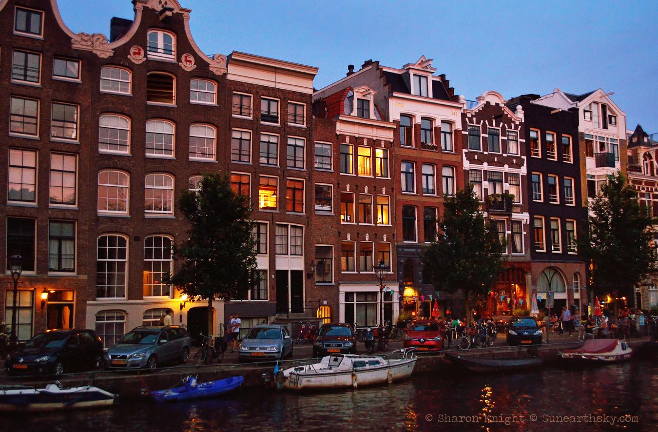 row houses at twilight 2