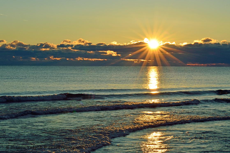 daybreak over lake michigan 2